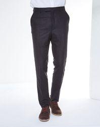 Pantalon 100% Laine Vierge Thomson marine - Bellerose - Modalova