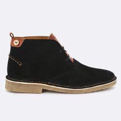 Boots en Velours de Cuir Lebanon - Faguo - Modalova