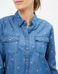 Chemise en jean Layla à motifs - Pepe Jeans - Modalova