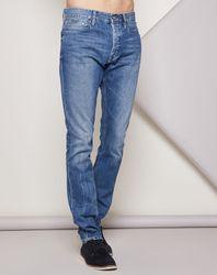 Jean Taper Vibl bleu - Calvin Klein - Modalova