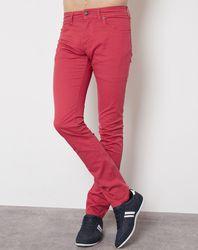 Pantalon Bedford rouge - Hackett London - Modalova