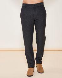 Pantalon coupe slim noir - Giorgio Armani - Modalova