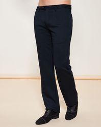 Pantalon version Casual coupe évasée marine - Giorgio Armani - Modalova