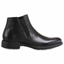 Chelsea boots en Cuir noires - Geox - Modalova