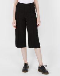 Pantalon Jupe-Culotte noir - Esprit - Modalova
