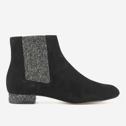 Chelsea Boots Efragon en Velours de Cuir - Mellow Yellow - Modalova