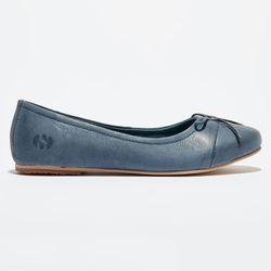 Ballerines en cuir bleu indigo - Superga - Modalova