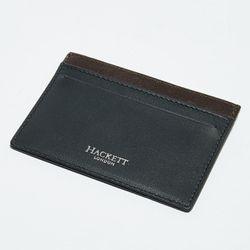 Porte carte en Cuir classic noir/marron 10x7.5 cm - Hackett London - Modalova