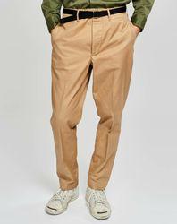 Pantalon chino droit Plano beige - Bellerose - Modalova