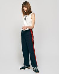 Pantalon Pape bleu vert - Bellerose - Modalova