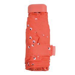 Parapluie mini imprimé orange - Bisetti - Modalova