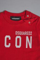 Unisex T-shirt manches longues Taille 9-12 100% Coton - Dsquared2 - Modalova