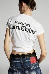 T-shirt manches courtes Taille S 100% Coton - Dsquared2 - Modalova