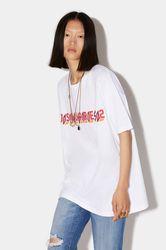 T-shirt manches courtes Taille XXS 100% Coton - Dsquared2 - Modalova