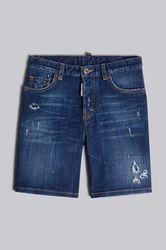 Kids Short Taille 4 98% Coton 2% Élasthanne - Dsquared2 - Modalova