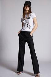 Pantalon Taille 34 95% Laine vierge 5% Élasthanne - Dsquared2 - Modalova
