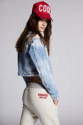 Pantalon Taille XXS 100% Coton - Dsquared2 - Modalova