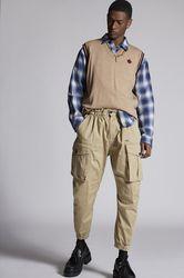 Pantalon Taille 40 97% Coton 3% Élasthanne - Dsquared2 - Modalova