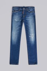 Kids 5 poches Taille 4 98% Coton 2% Élasthanne - Dsquared2 - Modalova