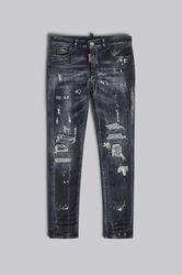 Kids 5 poches Taille 6 92% Coton 6% Élastomultiester 2% Élasthanne - Dsquared2 - Modalova