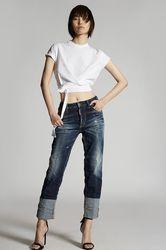 Poches Taille 32 92% Coton 6% Élastomultiester 2% Élasthanne - Dsquared2 - Modalova