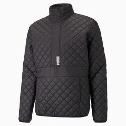 Blouson matelassé semi-zippé , Noir, Taille XS, Vêtements - PUMA - Modalova