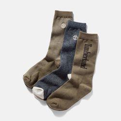 Paires De Chaussettes À Logo En Écru , Taille L - Timberland - Modalova