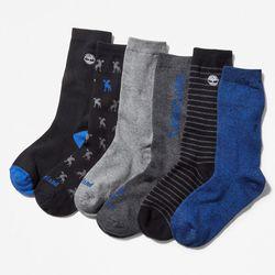 Coffret Cadeau 6 paires De Chaussettes En , Taille L - Timberland - Modalova