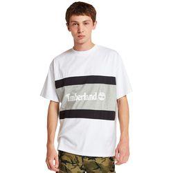 T-shirt À Logo Color Block En /gris /gris, Taille S - Timberland - Modalova