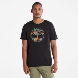 T-shirt Arbre Camouflage Outdoor Heritage En , Taille L - Timberland - Modalova