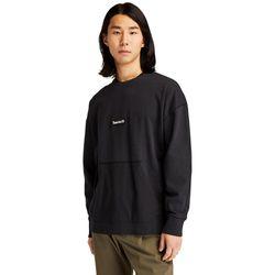 Sweat-shirt Graphique Teint En Pièce En , Taille L - Timberland - Modalova