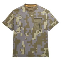 T-shirt Imprimé À Poche Earthkeepers® By Raeburn All Gender En Camouflage Camouflage , Taille 3XL - Timberland - Modalova
