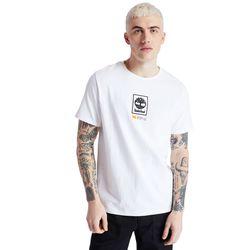 T-shirt À Logo Arbre Carré En , Taille L - Timberland - Modalova