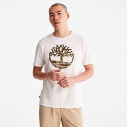 T-shirt Camouflage Avec Logo En , Taille XL - Timberland - Modalova