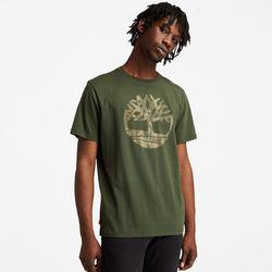 T-shirt Camouflage Avec Logo En Foncé Foncé, Taille M - Timberland - Modalova