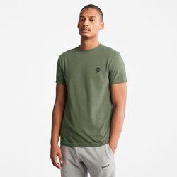 T-shirt À Col Rond Dunstan River En Foncé Foncé, Taille S - Timberland - Modalova