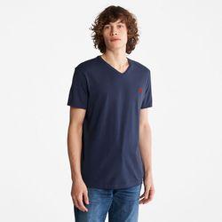 T-shirt Dunstan River À Col En V En Marine Marine, Taille S - Timberland - Modalova