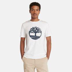 T-shirt À Logo Arbre En , Taille M - Timberland - Modalova