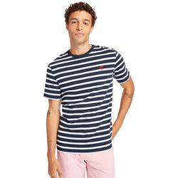 T-shirt À Rayures Zealand River En Marine Marine, Taille XL - Timberland - Modalova