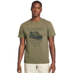 T-shirt À Imprimé Archive En Foncé Foncé, Taille M - Timberland - Modalova