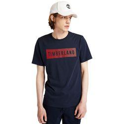 T-shirt En Coton Biologique En Marine Marine, Taille S - Timberland - Modalova