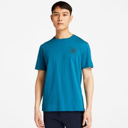 T-shirt Avec Logo Graphique Au Dos En Bleu Sarcelle Bleu Sarcelle, Taille L - Timberland - Modalova