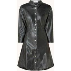Robe chemise skin en simili cuir - Mango - Modalova