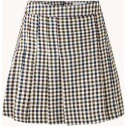 Mini jupe plissée Grunge avec motif à carreaux - Mango - Modalova