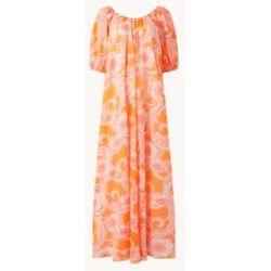 Mini-robe à imprimé floral et manches bouffantes - Mango - Modalova