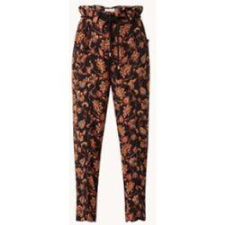 Pantalon taille haute en crêpe coupe droite Maldi - Mango - Modalova