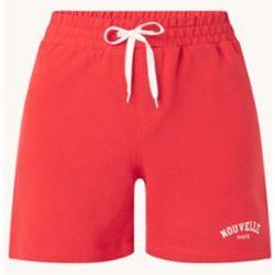 Pantalon de survêtement court Romee à taille haute et coupe droite - Mango - Modalova