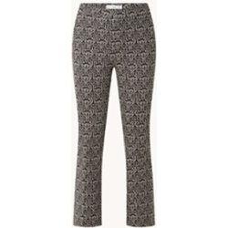 Pantalon raccourci Piper taille haute coupe droite avec strech - Mango - Modalova