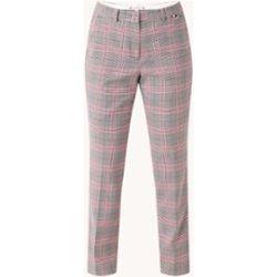 Pantalon taille haute coupe slim à carreaux - Tommy Hilfiger - Modalova