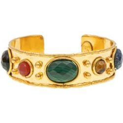 Bracelet jonc Byzantin Faceted plaqué - Sylvia Toledano - Modalova
